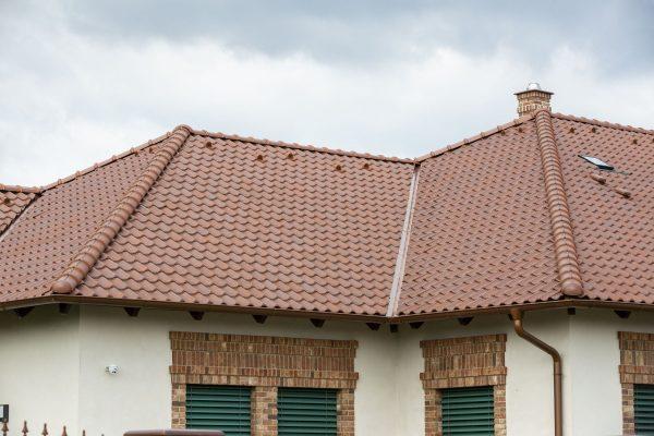 Hlavne casti sikmej strechy